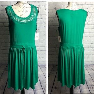 Calvin Kline NWT draw string waist dress size 12